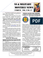 Veterans & Military Families Monthly News-October 2011 Part II