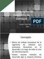Métodos Ágiles de Desarrollo de Software