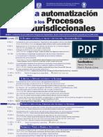 La automatización de los Procesos Jurisdiccionales