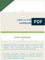 Qué es el diseño multimedia