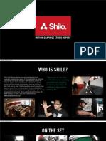 Motion Graphics Studio Report - Shilo