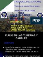 Flujo en Las Tuberi_Medicion de Flujos