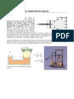 CSF Practica 08 El Principio de Pascal - Freno Hidraulico