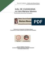 Manual de Ciudadanía - Cátedra Libre Mariano Moreno