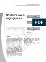18-23_Newton's Law in Angiogenesis