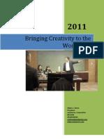 Ed Ebreo- Creativity Workshop