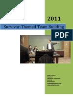 Ed Ebreo- Survivor-Themed Team Building Event