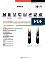 FP400 Fire Resistant Armoured Cable