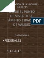 CLASIFICACIÓN DE LAS NORMAS JURIDICAS EXPOSICION