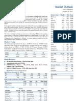 Market Outlook 25th October 2011