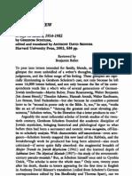 Balint Review Scholem Letters