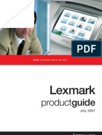 Product Guide July 2007