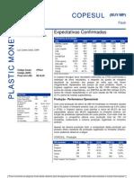 280706 - Flash News Petroquímica - Copesul - Expectativas Confirm Ad As