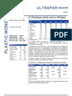 010806 - Flash News Petroquímica - Ultrapar - O Destaque Ainda Será a Ultragaz