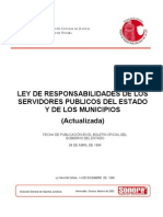 Ley 054 Respons Servidores Publicos