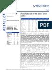 040806 - Flash News Mineração - CVRD - Result a Dos Do 2T06 - Sólido e Em Linha
