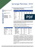 080806 - Flash News Petróleo e Gás - Ipiranga Petróleo - Expectativa Positiva