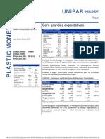 080806 - Flash News Petroquímica - Unipar - Sem Grandes Expectativas