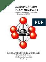 Modul PRAKTIKUM Kimia Anorganik I (1)