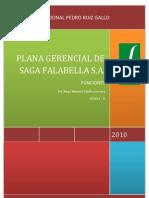 Funciones Plana Gerencial de Saga Falabella s.a.