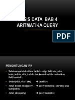 Basis Data Bab 4