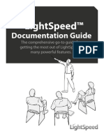Light Speed Documentation