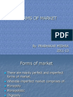 Forms of Market