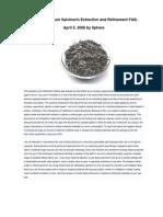 Salvia Divinorum Extraction FAQ