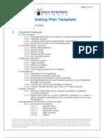 Marketing Plan Template(1)