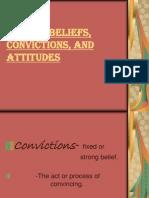 Filipino Beliefs, Convictions, And Attitudes