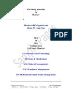 SAP FSCM & TRM Configuration Material