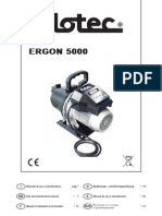 Pompe Eau Flotec Ergon 5000