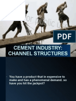 Cement Industry Channel Structure India