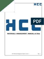 Hcc Mm Manual