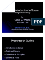 Introduction SCRUM