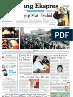 Koran Padang Ekspres | Selasa, 25 Oktober 2011