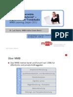 """""""Mobile und vernetzte Szenarien im Aufwind"""" Webinar-Vortrag von Dr. Lutz Goertz, MMB-Institut"""