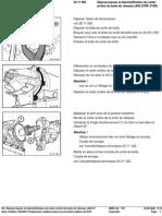 RA Dépose Repose Et étanchéification Du Carter Arrière de Boîte de Vitesses (A4S 27