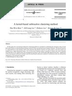 Method Subtractive Culstering