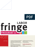 Fringe Program for ALP National Conference