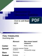 Descriptive Stat Variance