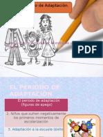 EL PERIODO DE ADAPTACIÓN EN EDUCACIÓN INFANTIL