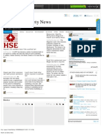 Health and Safety News 25.10.11