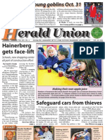 Herald Union--Hainerberg gets face-lift