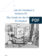 The Guide for the Sciences Po Student