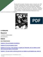 Maquiavel - O Príncipe