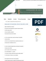 Simulado de Raciocínio Lógico para MPU e INSS _ Bruno Villar