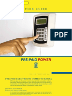 KPLC Prepaid Meters User Guide