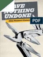 2011 LeatherMan Product Catalog