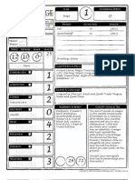 Dragon Age - Player Aid Sample Characters